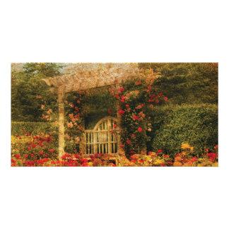 Bench - The Rose Garden Photo Card