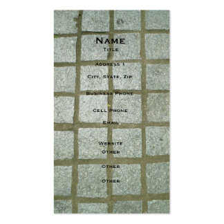 Bench Tiles Pack Of Standard Business Cards