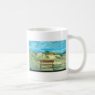 Bench, Zabriskie Point Mugs