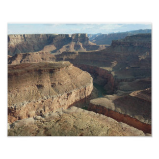 Bend in the Colorado River at Marble Canyon Print