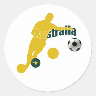 Bend it Aussie Bend it like an Australian gifts Stickers