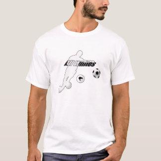 Bend it like a Kiwi All Whites Soccer Football T-Shirt