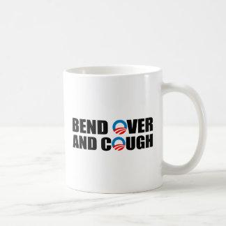 BEND OVER AND COUGH BASIC WHITE MUG