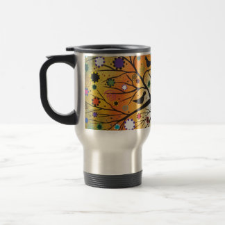 Bendind Branches_Everett, Day Of The Dead, Mexican Coffee Mugs