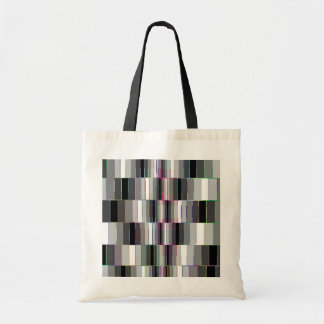 Bending Boxes Pattern Budget Tote Bag