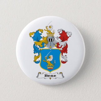 Bene_1 Family Hungarian Coat of Arms 6 Cm Round Badge
