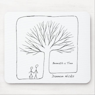 Beneath a Tree Cover Mouse Mats