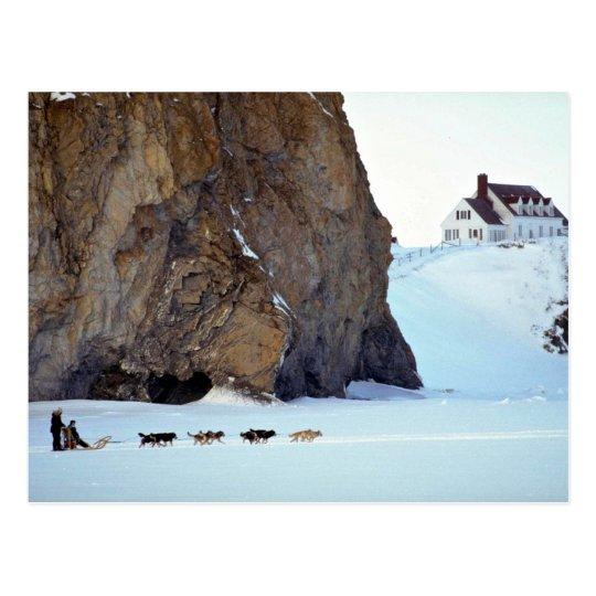Beneath the cliff postcard