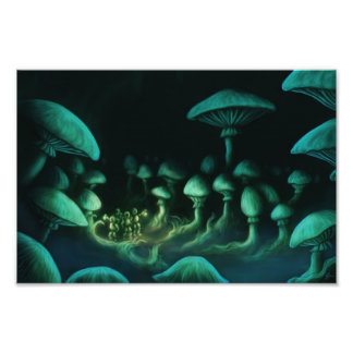 beneath the earth fantasy photo print