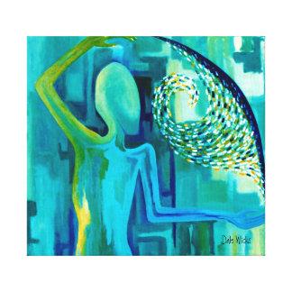 Beneath The Surface Canvas Print