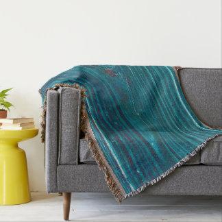 Beneath the Surface Throw Blanket