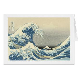 Beneath the Wave of Kanagawa, Hoku Greeting Card