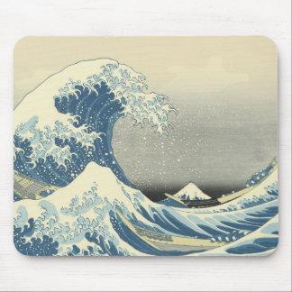 Beneath the Wave of Kanagawa, Hokusai, 1830-32 Mouse Pad