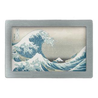 Beneath the Wave off Kamagawa Belt Buckles