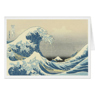 Beneath the Wave off Kamagawa Card