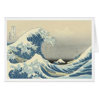 Beneath the Wave off Kamagawa Card