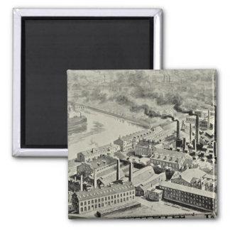 Benedict & Burnham Mfg Co Square Magnet