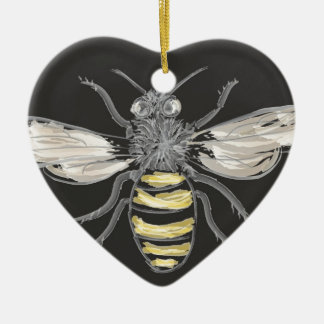 Beneficial Bumblebees Christmas Ornament