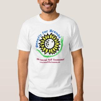 Benefit for Brenda 20thAnnual Gold Tournament Logo T Shirt