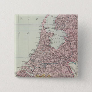 Benelux Countries 15 Cm Square Badge