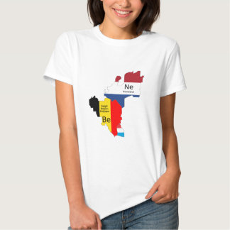 Benelux map shirt