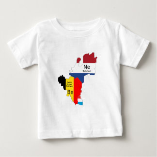 Benelux map tees