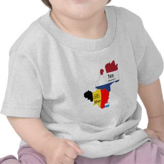 Benelux map tee shirts