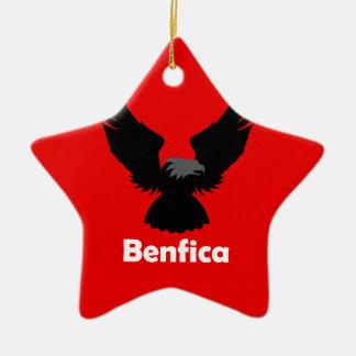 Benfica Ceramic Star Decoration
