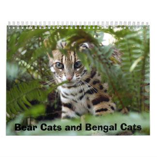 Bengal Cat 022, Bear Cats and Bengal Cats Wall Calendars