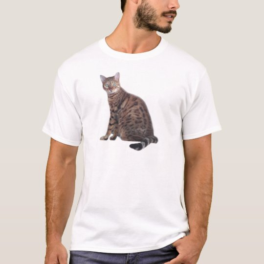 Bengal Cat Apparel T-Shirt