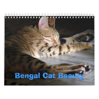 Bengal Cat Beauty Calendars