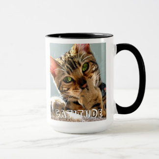 Bengal Cat Catitude Coffee Mug