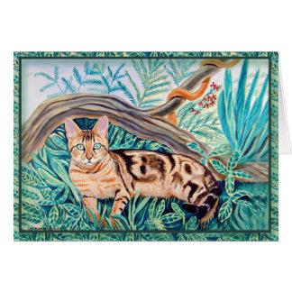 Bengal Cat Greeting Cards