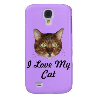 Bengal Cat Head Galaxy S4 Case