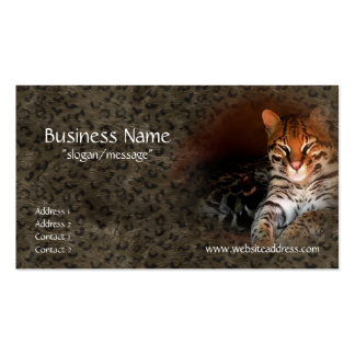 Bengal Cat Kitty Business Cards