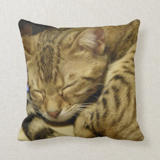 Bengal Cat Pillow