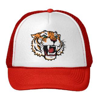 Bengal Mascot (Color) Mesh Hats
