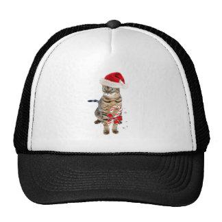 Bengal Santa gifts Trucker Hats