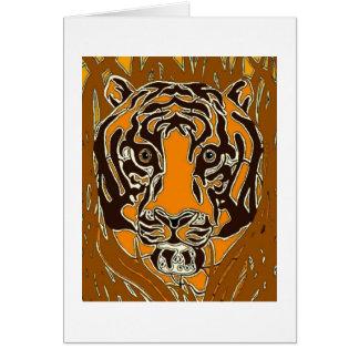 Bengal Tiger Greeting Cards