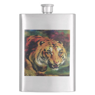 Bengal Tiger Hip Flask