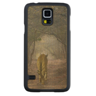Bengal Tiger in the forest in Ranthambore Maple Galaxy S5 Slim Case