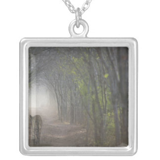 Bengal Tiger in the forest in Ranthambore Necklaces