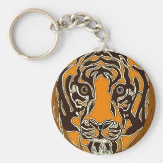 Bengal Tiger Key Chain