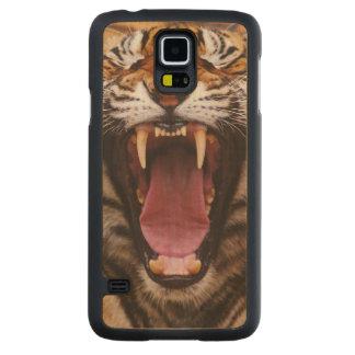 Bengal Tiger, Panthera tigris 2 Carved Maple Galaxy S5 Case
