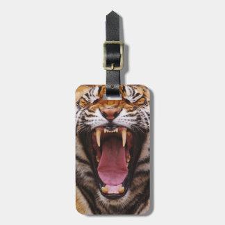 Bengal Tiger, Panthera tigris 2 Luggage Tag