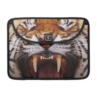 Bengal Tiger, Panthera tigris 2 Sleeve For MacBook Pro
