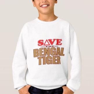 Bengal Tiger Save Sweatshirt
