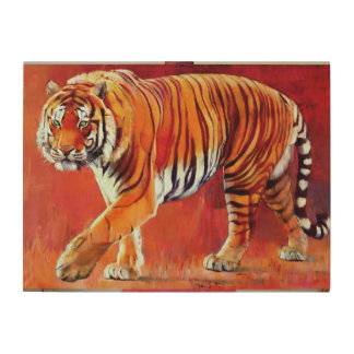 Bengal Tiger Wood Canvases