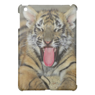 Bengal tiger yawning iPad mini cover