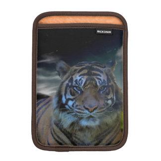 Bengal Wild Tiger Head Watercolor Big Cats iPad Mini Sleeves